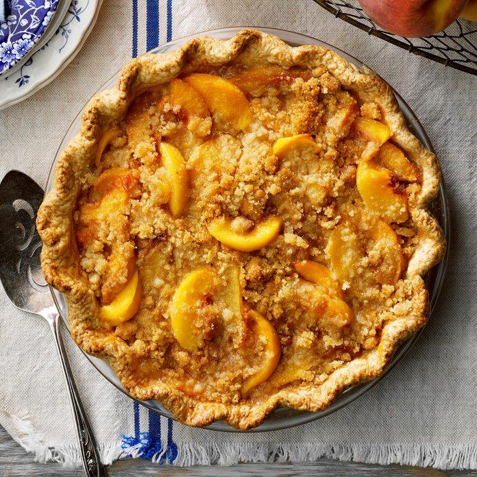 Mom's Peach Pie