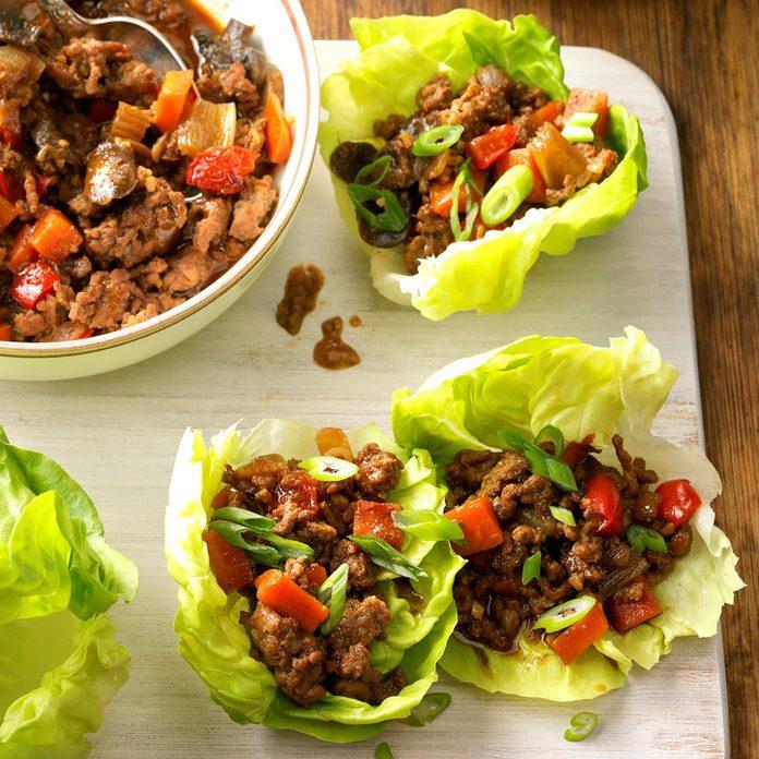 August 18: Moo Shu Lettuce Cups