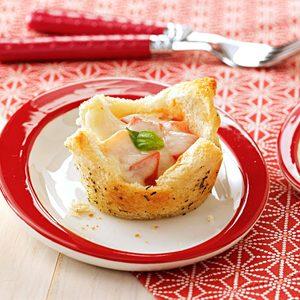 Mozzarella Appetizer Tartlets