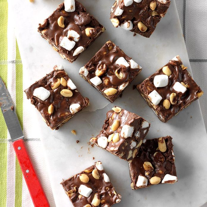 Nana's Rocky Road Fudge