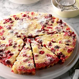 Nantucket Cranberry Tart