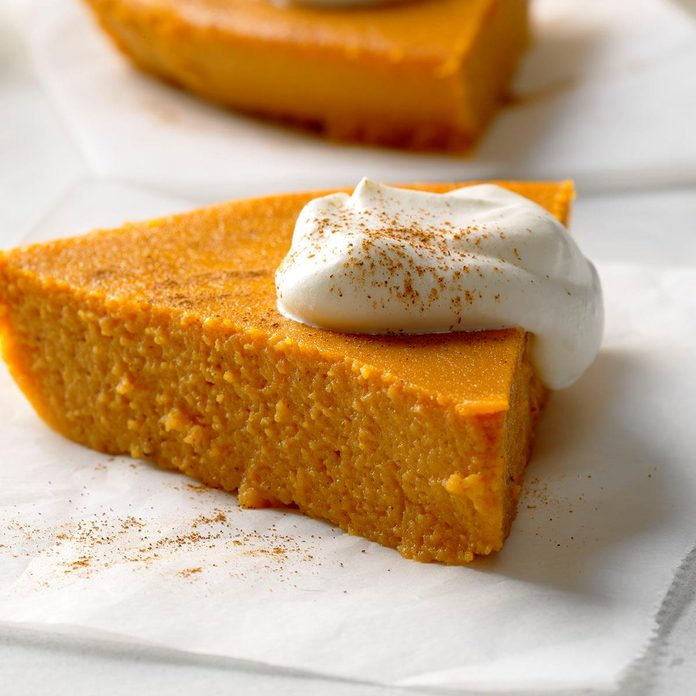 No-Crust Pumpkin Pie
