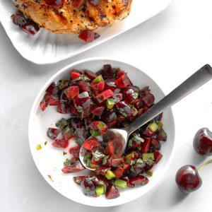 Northwest Cherry Salsa