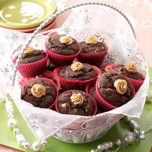 Nutty Chocolate Muffins