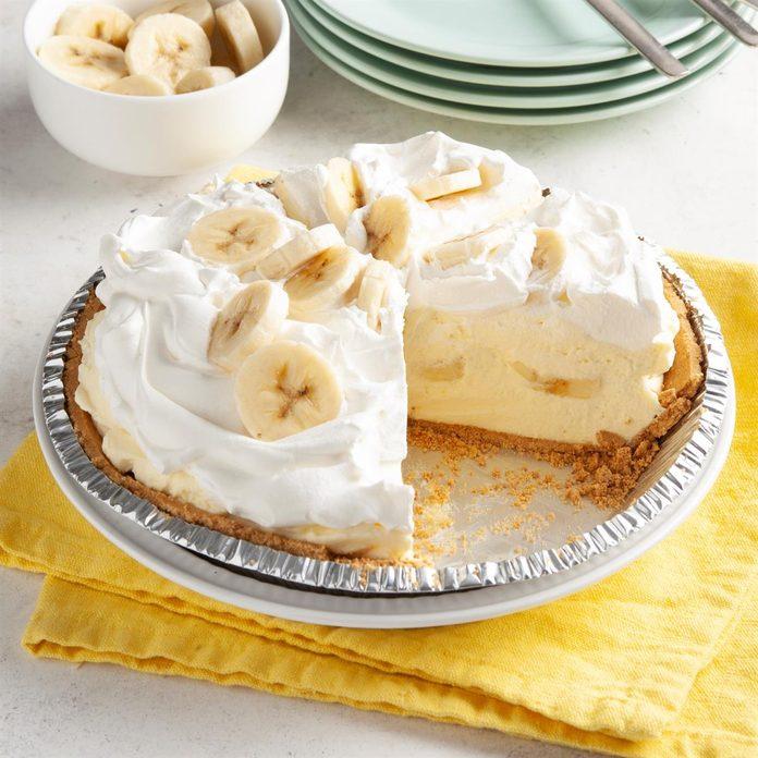 Old-Fashioned Banana Cream Pie