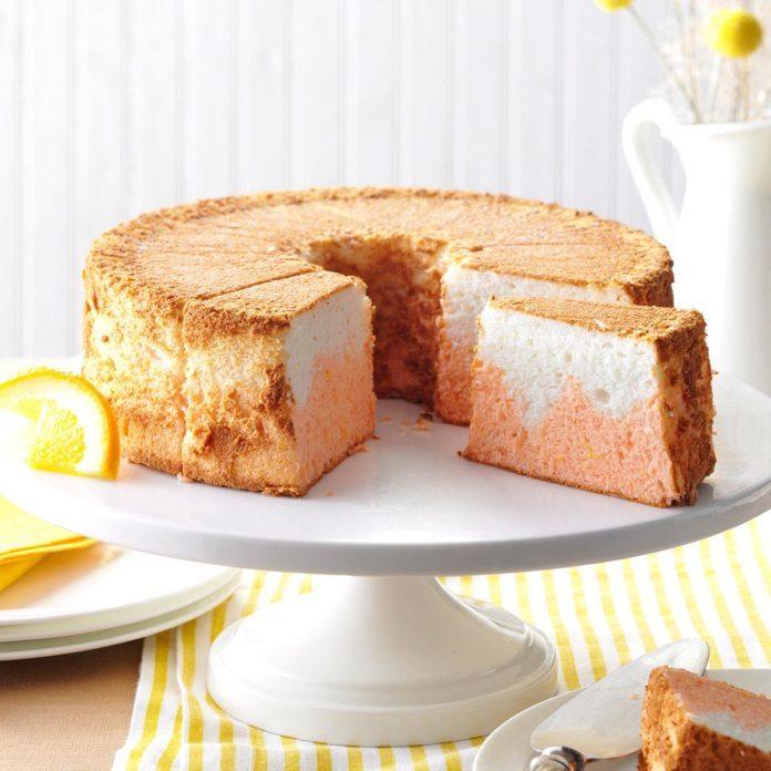 Orange Dream Angel Food Cake