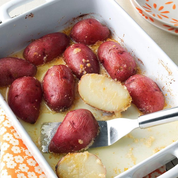 Parmesan Baked Potatoes