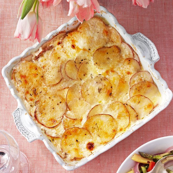 Inspired by The Capital Grille Au Gratin Potatoes