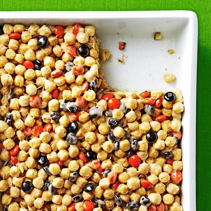Peanut Butter Cereal Treats
