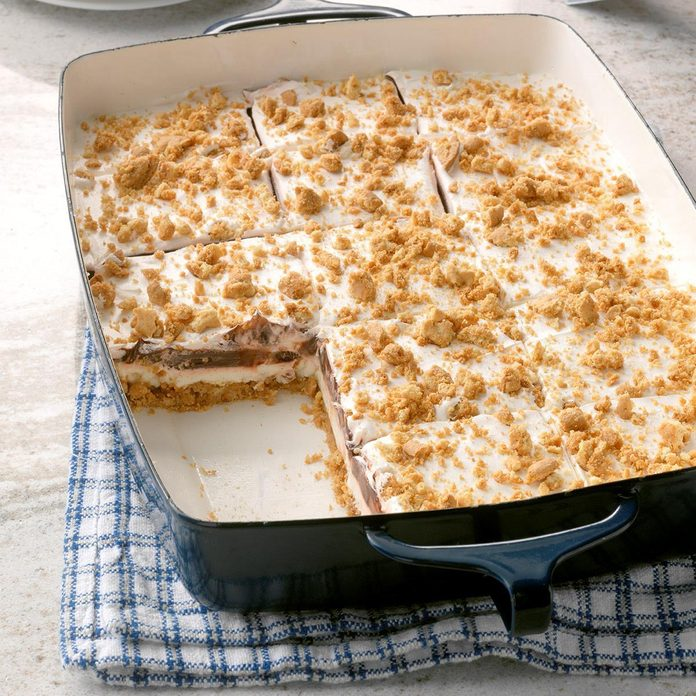 Peanut Butter Icebox Dessert
