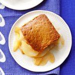 Pear Gingerbread Cobbler