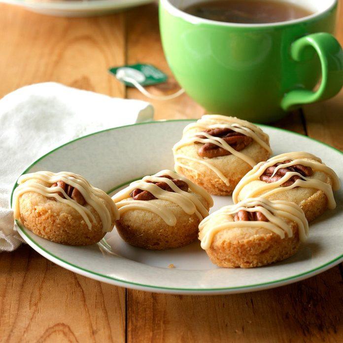 Pecan Shortbread Tea Cakes
