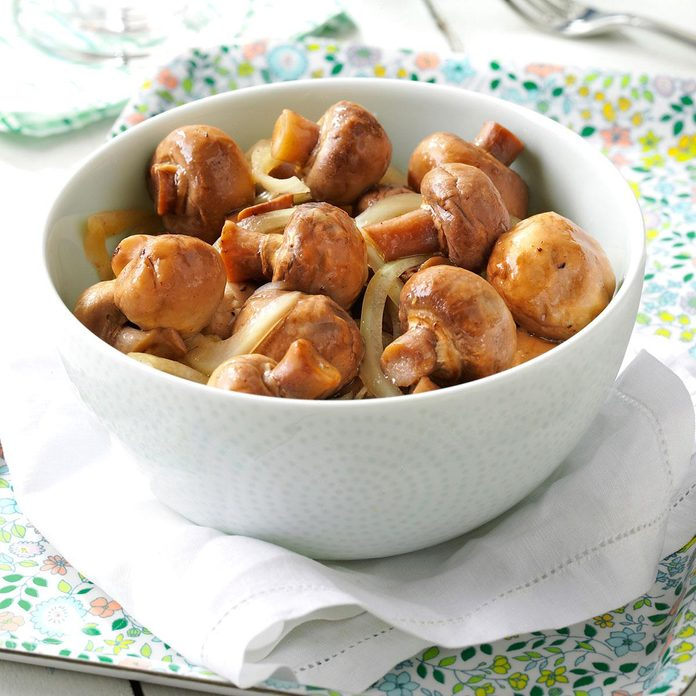 Pickled Mushrooms with Garlic