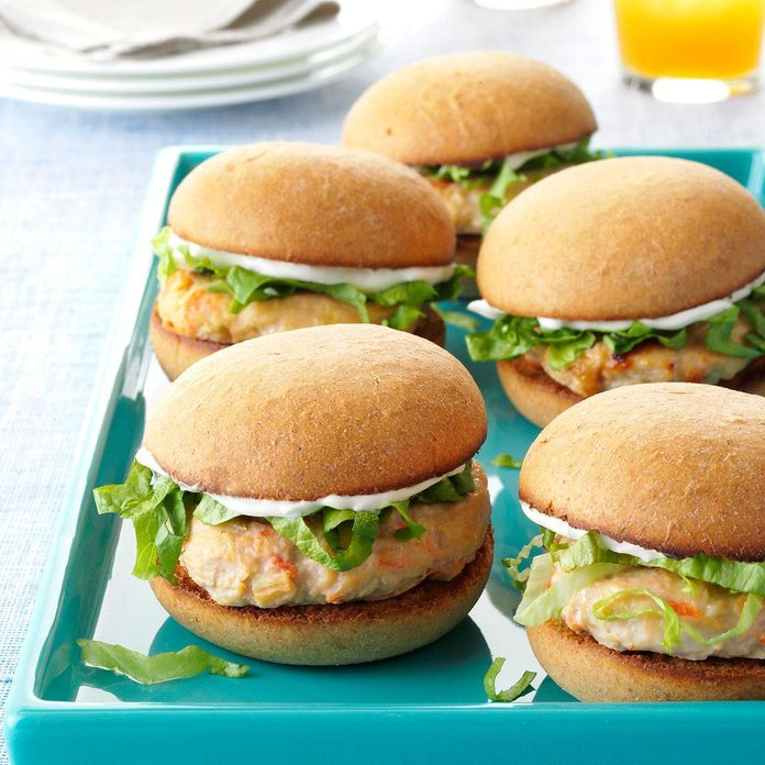 Pineapple Chicken Sliders