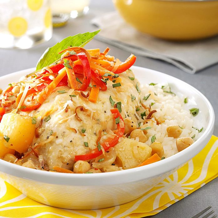 Pineapple Curry Chicken