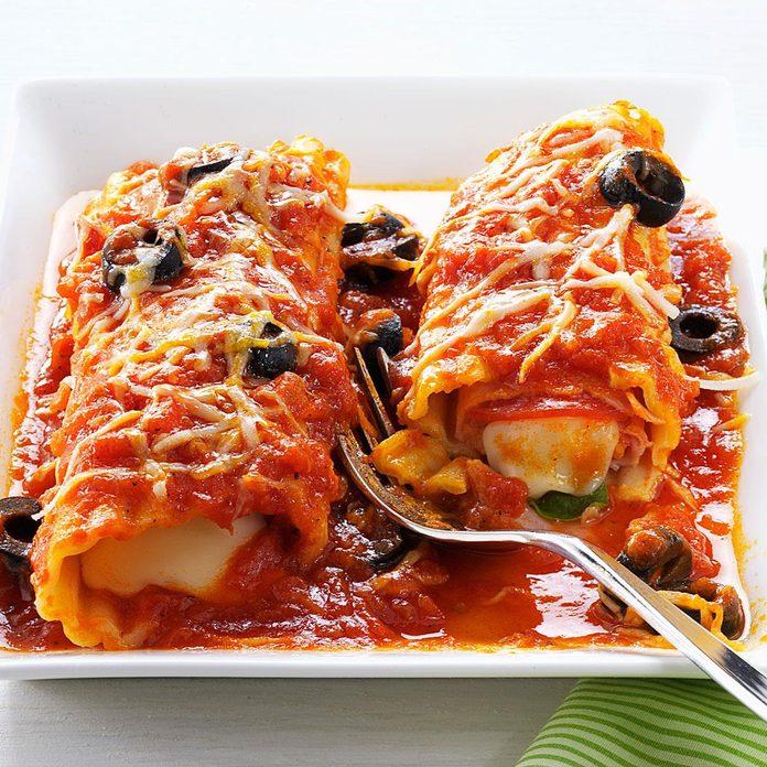 Pizza-Style Manicotti