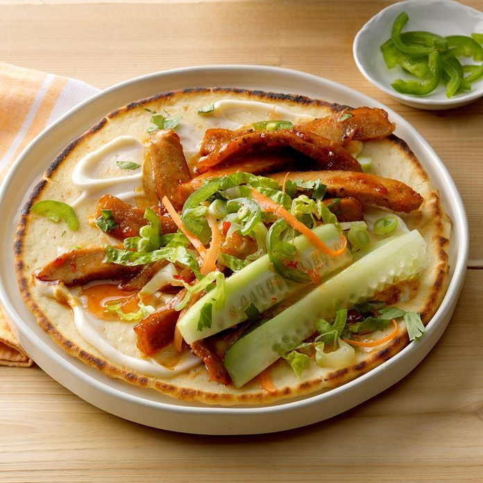 Pork Banh Mi Wraps