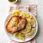 Pork Chops 'n' Pierogi
