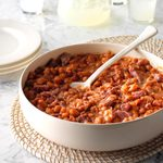 Pressure-Cooker BBQ Baked Beans