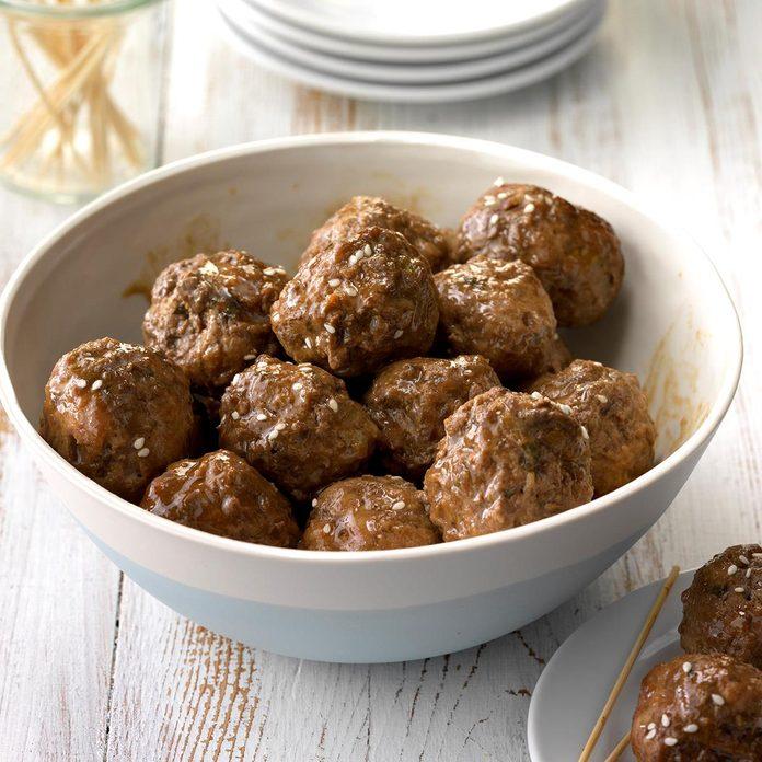 Instant Pot Hoisin Meatballs
