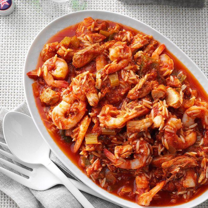 Instant Pot Italian Shrimp 'n' Pasta