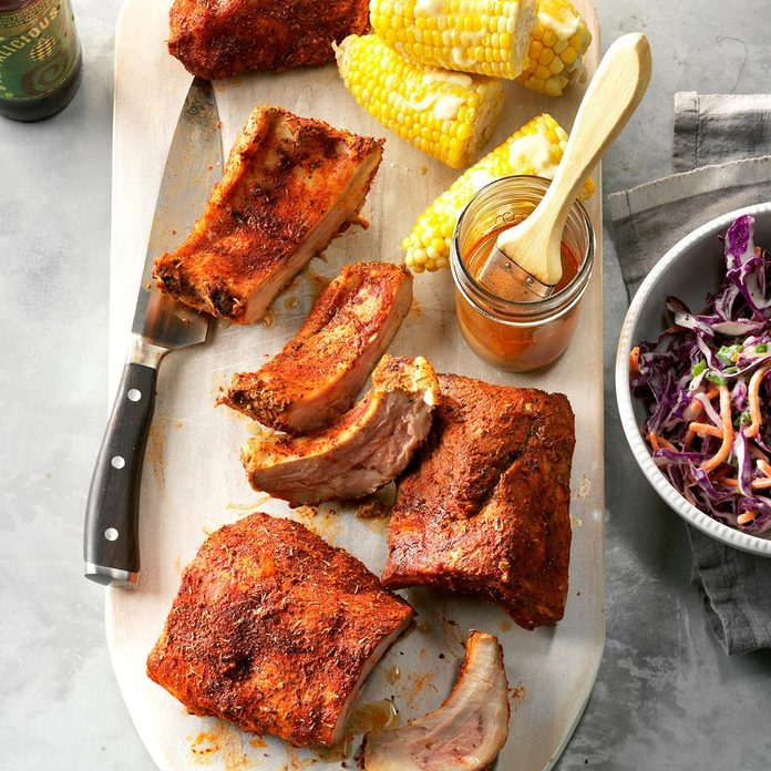 Pressure-Cooker Memphis-Style Ribs