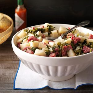 Pressure-Cooker Truly Tasty Turnip Greens