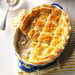Puff Pastry Chicken Potpie