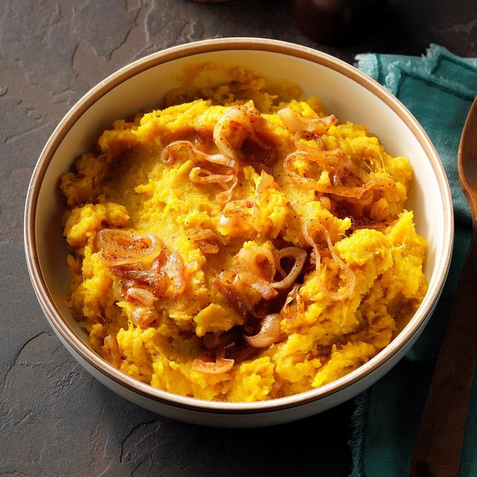 Pumpkin and Plantain Mash