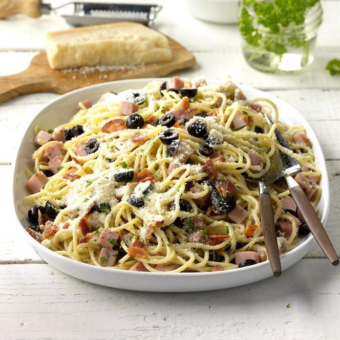 Inspired by: Spaghetti Carbonara at Biaggi's