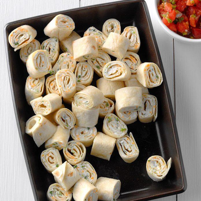 Quick Tortilla Pinwheels