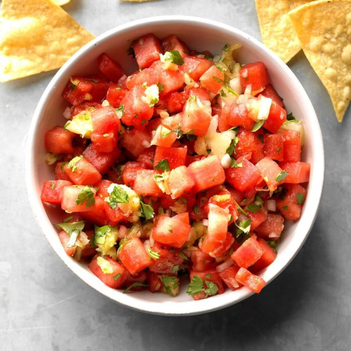 Quick Watermelon Salsa