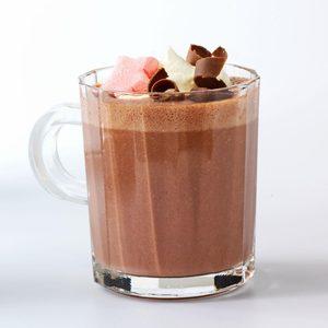Raspberry Hot Cocoa