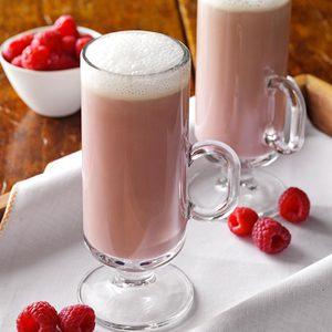 Raspberry Truffle Cocktail