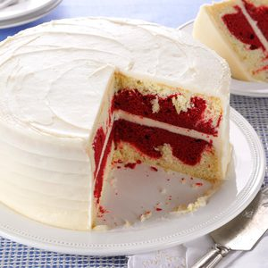 Red Velvet Marble Cake