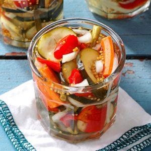 Refrigerator Garden Pickles