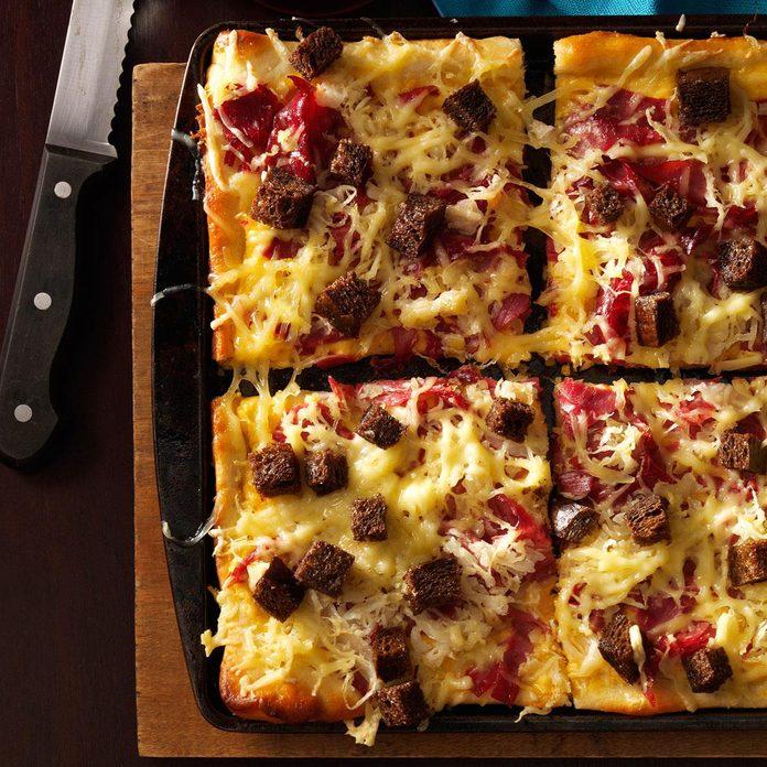 Reuben-Style Pizza