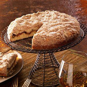 Rhubarb-Lemon Coffee Cake