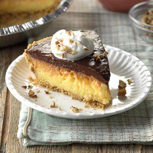 Ribbon Pudding Pie