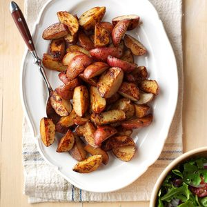 Roasted Balsamic Red Potatoes