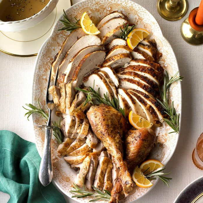 Roasted Citrus & Herb Turkey
