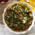 Roasted Green Vegetable Medley