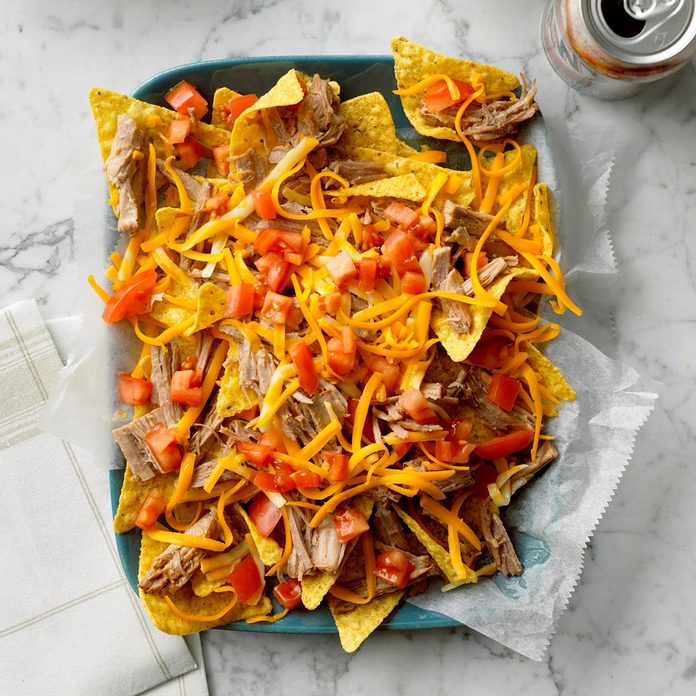 Day 20: Root Beer Pulled Pork Nachos