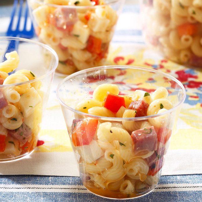 Salami & Provolone Pasta Salad