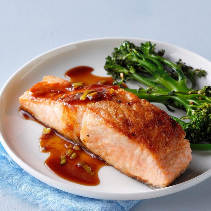 Salmon Supreme with Ginger Soy Sauce