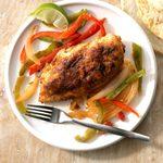 Sassy Chicken & Peppers