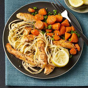 Sauteed Rosemary Carrots
