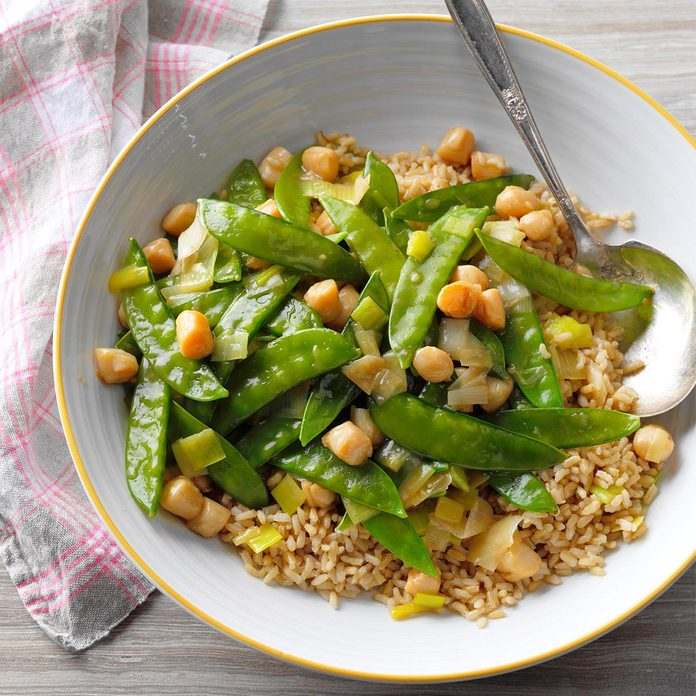Day 30: Scallops with Snow Peas