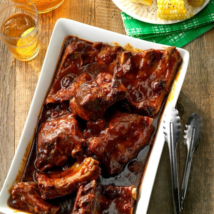 """""""Secret's in the Sauce"""" BBQ Ribs"""