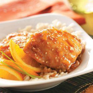 Sesame Orange Chicken